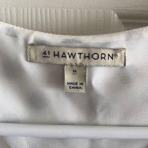 41 Hawthorn Tops - 41 Hawthorne Polka Dot Blouse